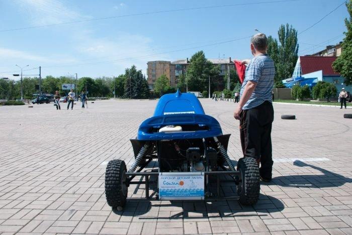Мариупольская детвора показала взрослым, как надо ездить на багги (ФОТО), фото-10