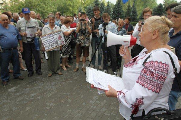 Мариупольцы встали на защиту украинского языка и охраны окружающей среды (ФОТО), фото-1