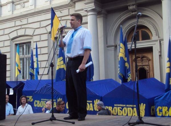 Олег Панькевич на вічі