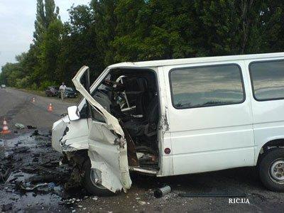 В аварии на трассе Кировоград - Запорожье  пострадали 10 человек (ФОТО), фото-1