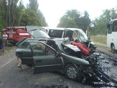 В аварии на трассе Кировоград - Запорожье  пострадали 10 человек (ФОТО), фото-2