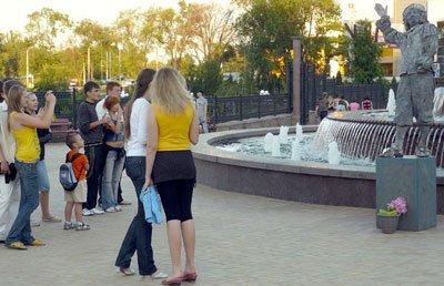 Парк Щербакова украсила ожившая скульптура Рембрандта (ФОТО), фото-1