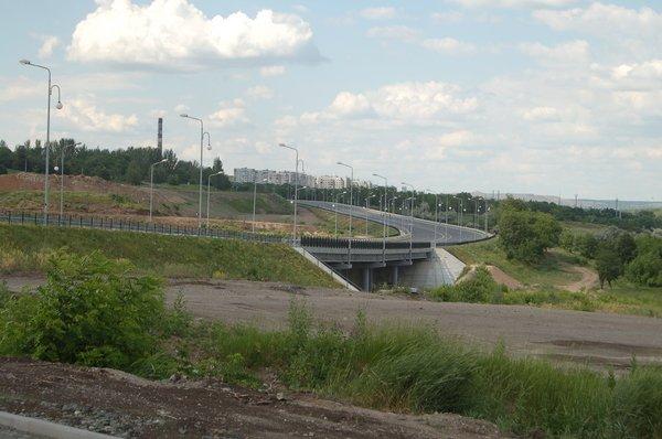 В Донецке появилась дорога с булыжниками (ФОТО), фото-1