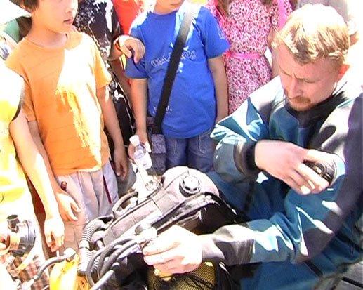 В Донецке малыши-спасатели учатся спасать (ФОТО), фото-2