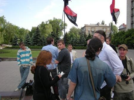 Донецкие студенты борятся за свои права малыми силами (ФОТО), фото-1