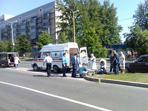 На улице Артема в Донецке таксист сбил пешехода (ФОТО), фото-2