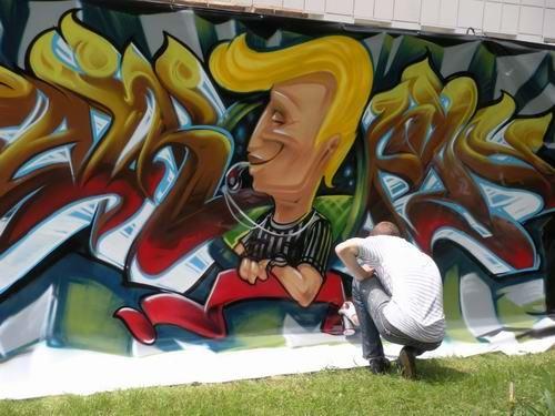 Дончане разрисовали город к Евро-2009 (ФОТО), фото-1