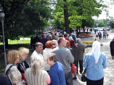 В Донецк привезли мощи святителя Спиридона Тримифунтского. Тысячи горожан хотят прикоснуться к святыне (ФОТО), фото-2