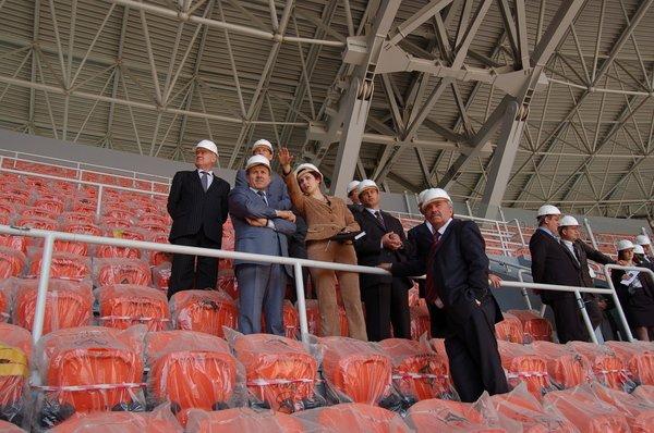 """Вице-премьер-министр Украины посетил """"Донбасс Арену"""" (ФОТО), фото-2"""