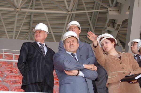 """Вице-премьер-министр Украины посетил """"Донбасс Арену"""" (ФОТО), фото-1"""