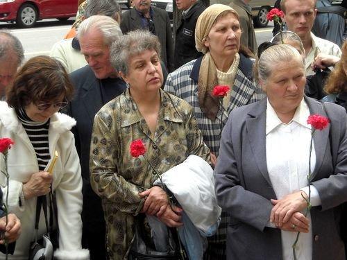 Лучше позже, чем никогда: в Донецке отметили день памяти жертв политических репрессий  (ФОТО), фото-3