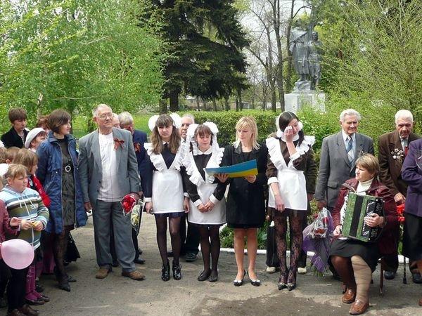 Донецкие школьники поздравили ветеранов (ФОТО), фото-2