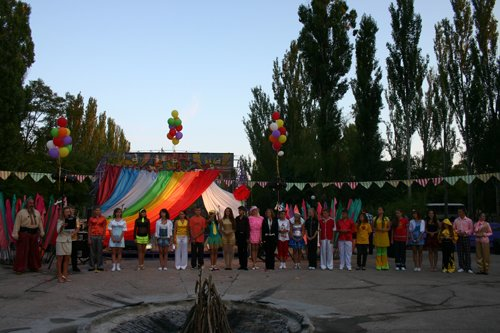 В Бердянске МЧС зажгло огни на воде и звезды Всеукраинского ДЮП, фото-2