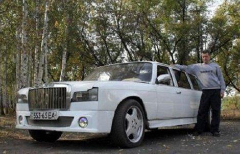 На Донбассе самоучка сделал из старого «Мерседеса» лимузин (ФОТО), фото-2