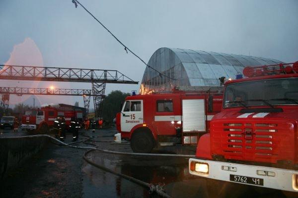 Вчера горел «Запоріжсельбудкомплект» (ФОТО), фото-3
