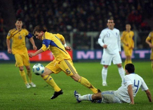 Украина – Греция – 0:1.  Сиртаки под дождем (ФОТО), фото-1
