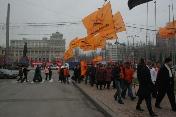 Ющенко опоздал в столицу Донбасса на два часа (ФОТО), фото-2