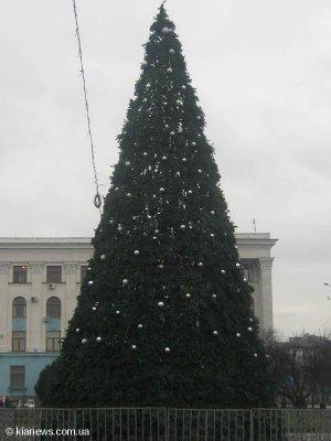 Симферополь украсили новогодние елки (ФОТО), фото-3