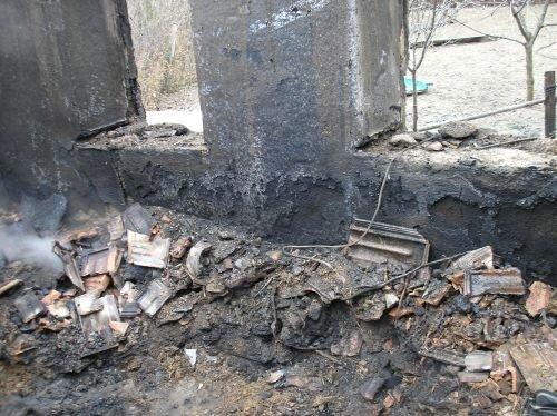 В Запорожской области мужчина сгорел заживо в собственном доме (ФОТО), фото-1