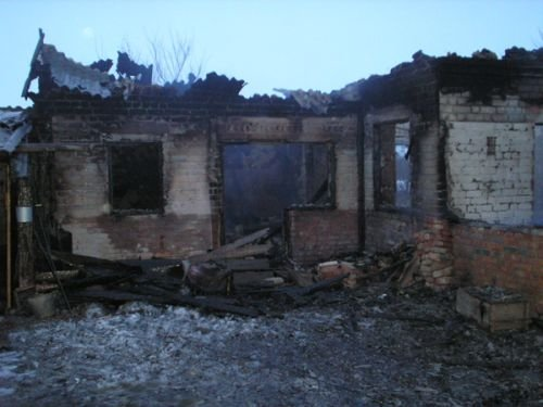 В Приазовском районе в огне погибла женщина (ФОТО), фото-1