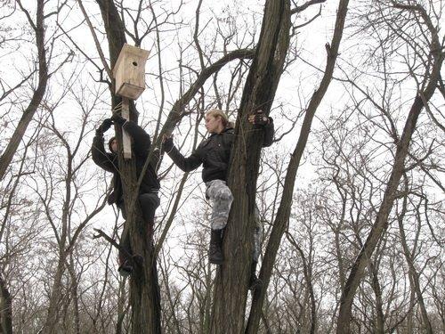 Запорожским птичкам повезло - их покормили (ФОТО), фото-4