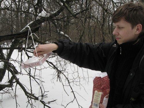 Запорожским птичкам повезло - их покормили (ФОТО), фото-3