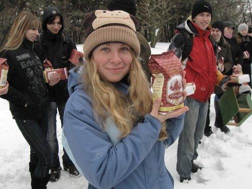 Запорожским птичкам повезло - их покормили (ФОТО), фото-2