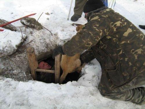 Куйбышевские спасатели помогли собаке (ФОТО), фото-2