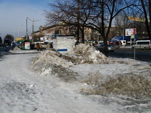 Запорожье в ледовых буграх и полях (ФОТО), фото-2