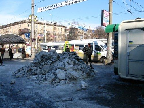 Запорожье в ледовых буграх и полях (ФОТО), фото-3