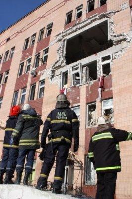 Названы причины взрыва в горбольнице № 7 г. Луганска (фото), фото-1