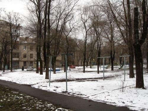 Город подарил запорожанкам на 8 марта... снег (ФОТО), фото-1