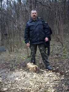 В запорожском заповеднике восстановят изрубленные вандалами деревянные статуи (ФОТО), фото-2
