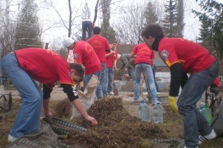 Молодежь Луганщины взяла шефство над памятниками героям ВОВ, фото-1