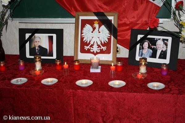 Сегодня в Симферополе прошло траурное мероприятие в связи с гибелью  польской делегации, фото-1