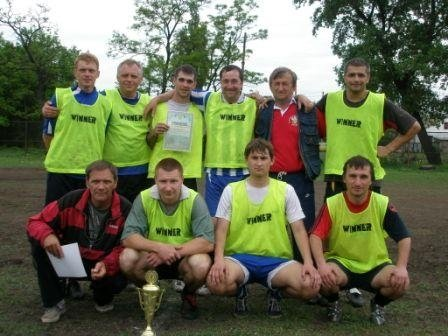 Весенним чемпионом Горловки по футболу стал «Темп» (ФОТО), фото-4