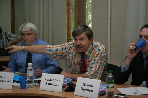 ПСПУ в Донецке пресекло  попытку Януковича подложить Медведеву «натовскую свинью»   (фото), фото-1
