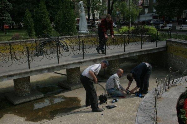 К последнему звонку в Донецке обещают  починить все фонтаны (фото), фото-1