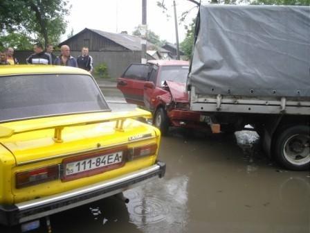 В Горловке пьяный водитель въехал«Газель», фото-2