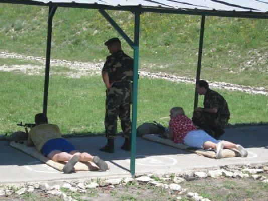 Пограничники Луганщины разрешили журналистам пострелять (фото), фото-2