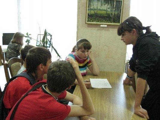 Луганские школьники занимались «Библиодрайвом» (фото), фото-2