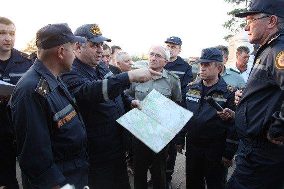 Продолжается тушение пожара в Луганских лесоохотничьих хозяйствах. Жертв нет (фото), фото-2
