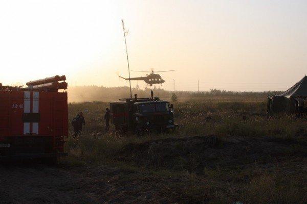 Продолжается тушение пожара в Луганских лесоохотничьих хозяйствах. Жертв нет (фото), фото-3