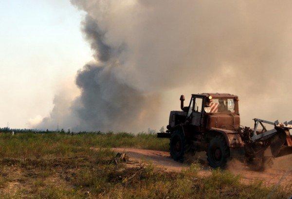 Продолжается тушение пожара в Луганских лесоохотничьих хозяйствах. Жертв нет (фото), фото-4