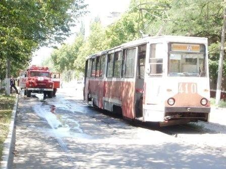 Из-за жары в трамвае «замкнуло» тяговой двигатель, фото-1