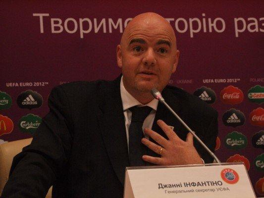 Джанни Инфантино: Украина проведет фантастический чемпионат Европы по футболу в 2012 году (фото), фото-2