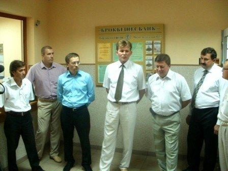 Горловские власти открыли в здании РЭС отделение коммерческого банка, фото-2