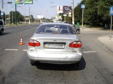 В Горловке «Москвич» догнал «Ланос», фото-2