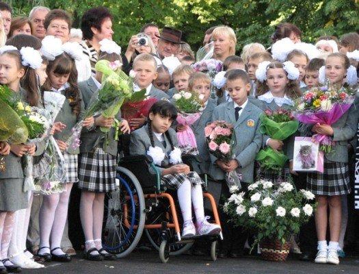 Дети-колясочники впервые в Харькове пошли в обычные школы (ФОТО), фото-1