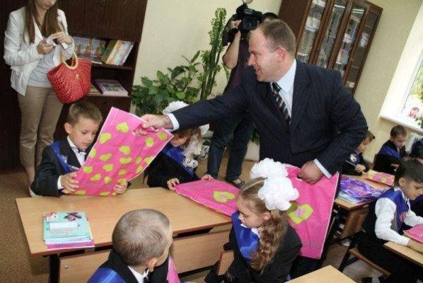 Первый звонок в Кушугумской школе «Интеллект» все же прозвучал (ФОТО), фото-2